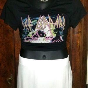 NWT Eloquii Plus Sz 18 Maxi Skirt EUC Tee